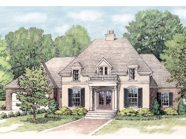 Luxury House Plan, 042H-0044
