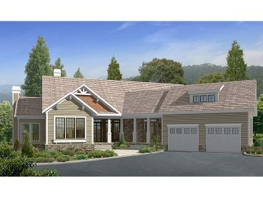 Craftsman House Plan, 053H-0023