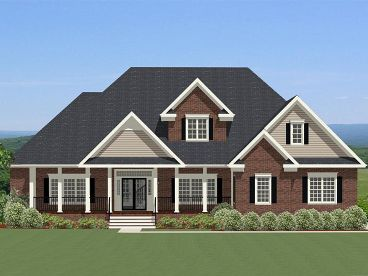 Traditional House Plan, 067H-0049