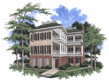 Historical House Plan, 017H-0024
