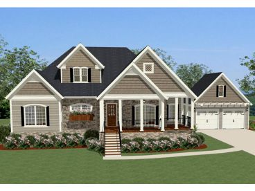 Country Home Plan, 067H-0001