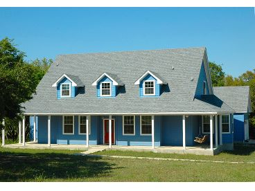 Country Home Plan Photo, 036H-0074