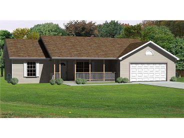 Country House Plan, 048H-0056