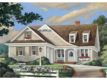 Ranch Home Design, 063H-0104