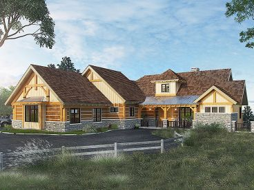 Mountain House Plan, 066H-0036