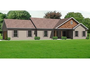 1-Story House Plan, 048H-0006
