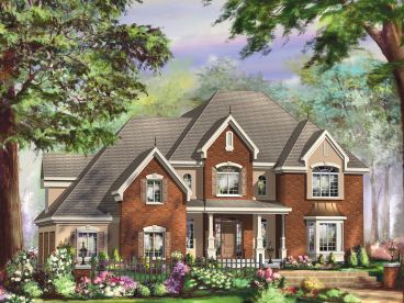 Luxury House Plan, 072H-0233
