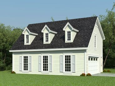 Carriage House Plan, 006G-0088