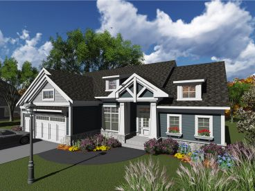 Craftsman Home Design, 020H-0394