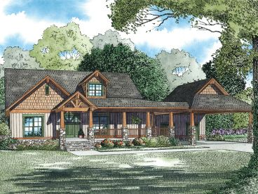 Mountain House Plan, 025H-0279