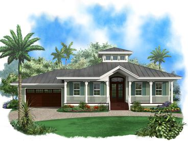 Coastal Home Plan, 037H-0092
