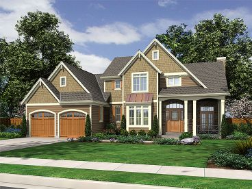 Two-Story House Plan, 046H-0011