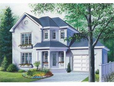 Affordable Home Plan, 027H-0055