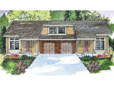 Multi-Family House Plan, 051M-0001