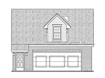 Garage Apartment Plan, 031G-0001