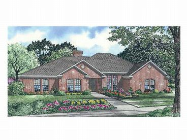 1-Story House Plan, 025H-0021