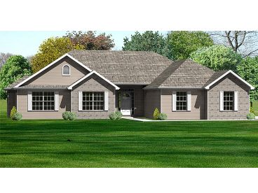 Family Home Plan, 048H-0050