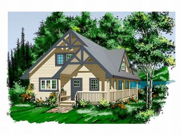 Mountain home plans 2 story mountain house plan design for House plans for mountain views