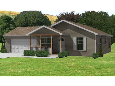 Vacation House Plan, 048H-0008