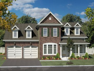 Two-Story Home Design, 014H-0094