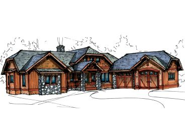 Craftsman Home, 025H-0207
