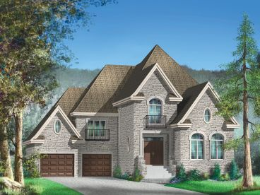 Family House Plan, 072H-0128