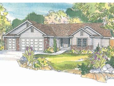Traditional House Plan, 051H-0095