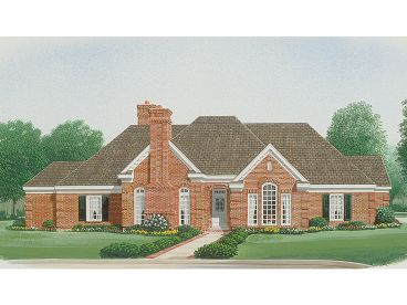 Traditional Home Design, 054H-0127