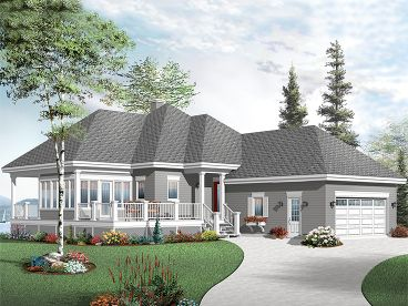 Vacation House Plan, 027H-0352