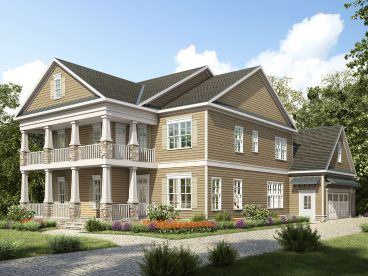Southern Country House Plan, 019H-0187
