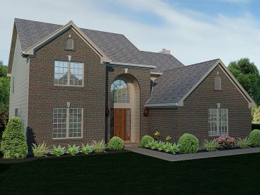 Traditional Home Plan, 055H-0021