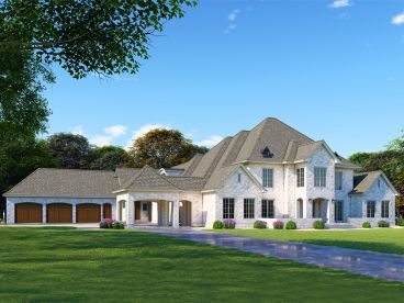 Premier Luxury House Plan, 074H-0073