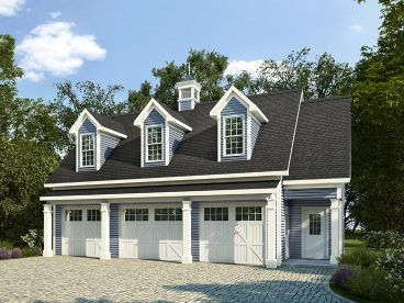Garage Apartment Plan, 019G-0008