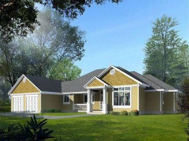 One-Story House Plan, 026H-0069
