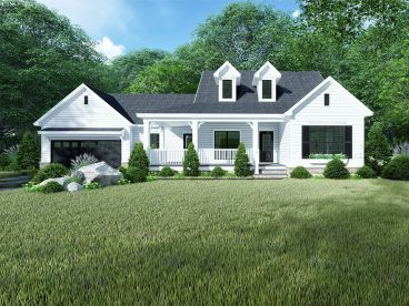 Country House Plan, 074H-0106