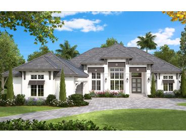 West Indies House Plan, 037H-0231