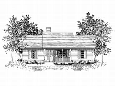 Small House Plan, 019H-0068