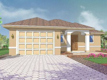 Sunblet House Plan, 070H-0007