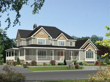 Drummond House Plans - - Spacious multi-generational home plan with 3  bedrooms on main unit