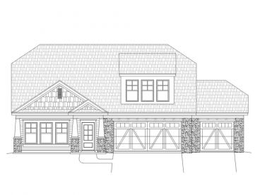 Craftsman Home Design, 062H-0056