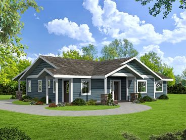 Family House Plan, 012H-0260