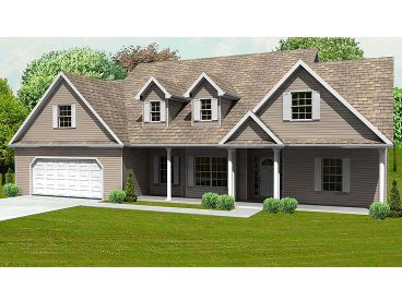 Country Home Plan, 048H-0023