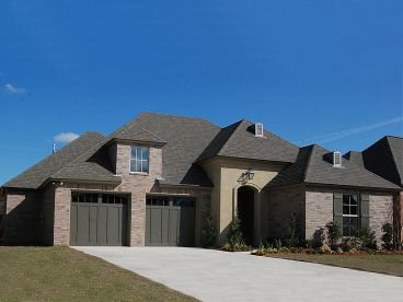 European House Plan, 079H-0008