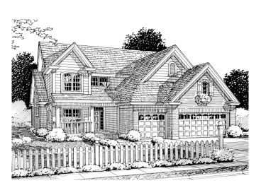 Two-Story Home Plan, 059H-0061