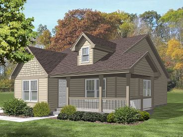 Love Shack House Plan, 016H-0059