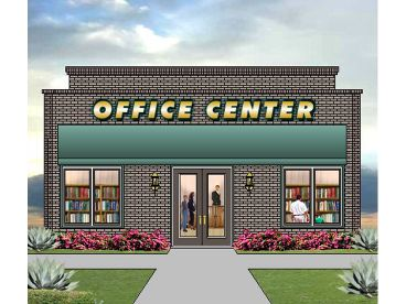 Commercial Building Plan, 006C-0002