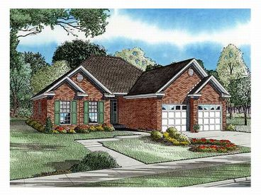 1-Story House Plan, 025H-0055