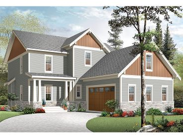 Country House Plan, 027H-0338