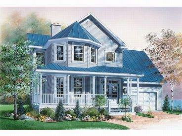 Two-Story Home Plan, 027H-0134