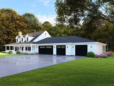 Country House Plan, 074H-0082